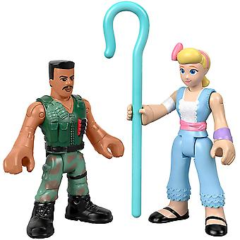 Disney Pixar Toy história 4 Imaginext: Carl combate & Bo Peep