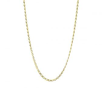 Eternity 9ct Gold 18'' Diamond Cut Rada Curb Chain