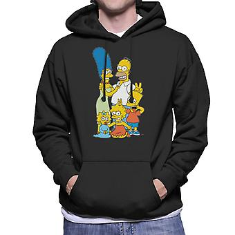 The Simpsons Silly Photo Men's Hooded Sweatshirt
