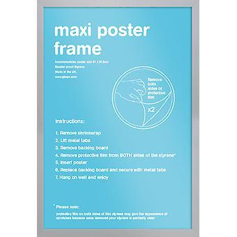 Marco de plata de Eton Maxi Poster / impresión marco