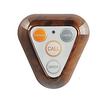 Kerui f66 trasmettitore wireless 4 tasti pulsante di chiamata per il sistema di chiamata hotel ristorante 433mhz