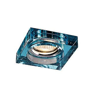 Diyas Crystal Bubble Downlight Square Rim Only Aqua, IL30800 Required To Complete The Item