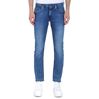 Tommy Hilfiger Slim Fit Bleecker Blue Wash Jeans