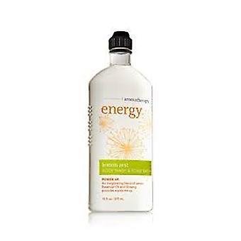 Bath & Body Works Aromatherapy Body Wash & Foam Bath Energy Lemon Zest 10 oz / 295 ml