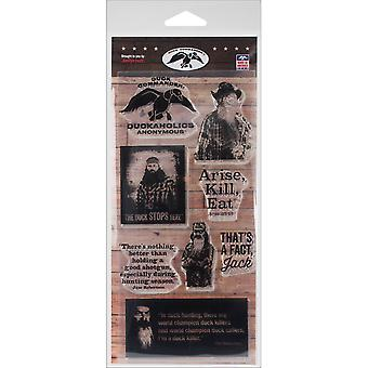Duck Commander Clear Stamps 4