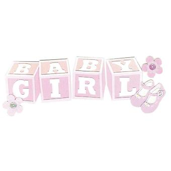 Jolee's Boutique Title Wave Stickers Baby Girl Spjt 226