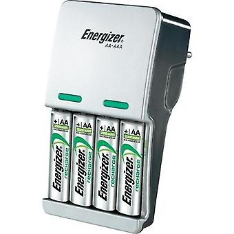Charger for cylindrical cells incl. rechargeables Energizer Compact charger