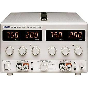 Bench PSU (adjustable voltage) Aim TTi EX752M 0 - 150 Vdc 0 - 2 A 300 W No. of outputs 2 x