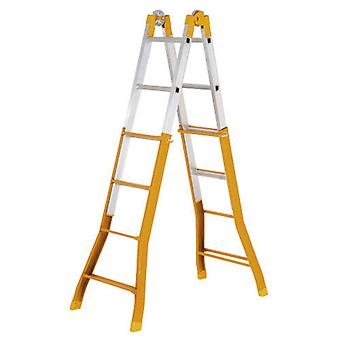 Wolfpack Telescoping Ladder Mixed 4 + 4. (Diy , Construction , Stairs)