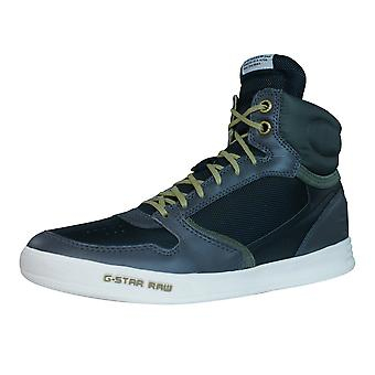 G-Star Yard Pyro Nylon Mens Hi Top Trainers - Grey