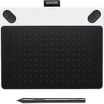 USB graphics tablet Wacom Intuos Draw White + Pen S White