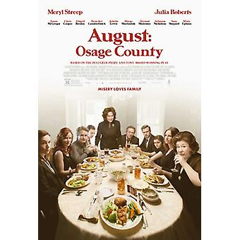 Agosto Osage County Movie Poster (11 x 17)