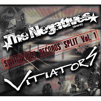 Negativer/Vitiators-negativer/Vitiators: Vol. 1-Switchlight poster Split USA import