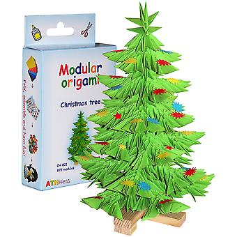 Modular Origami Kit-Christmas Tree CH001
