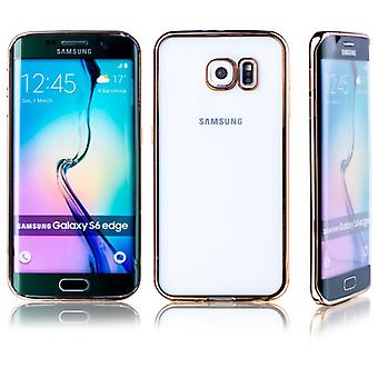 Premium TPU Silikoncase gold for Samsung Galaxy S6 edge plus G928 G928F