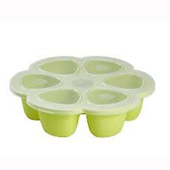 Béaba Silicone Multiplusions 6X90 Ml Green (Kitchen , Household , Child's)