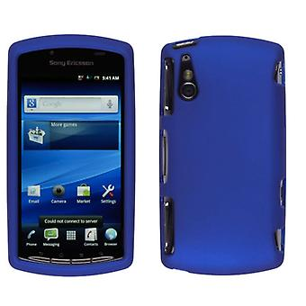 WIRELESS SOLUTIONS Soft Touch Snap-On Case.  Blue.