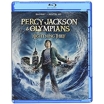 Percy Jackson & the Olympians: The Lightning Thief [Blu-ray] USA import