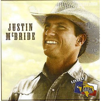 Justin McBride - Live på Billy Bob's Texas [CD] USA import