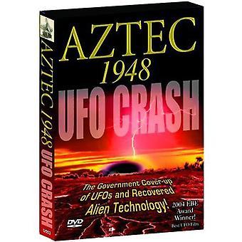 Aztec 1948 Ufo styrtet [DVD] USA importerer