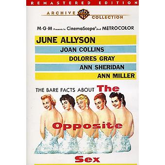 Opposite Sex (Remastered) [DVD] USA import