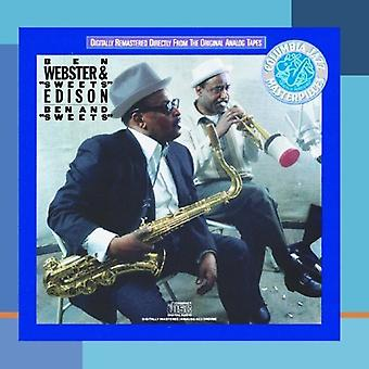Webster/Edison - Ben & godis [CD] USA import