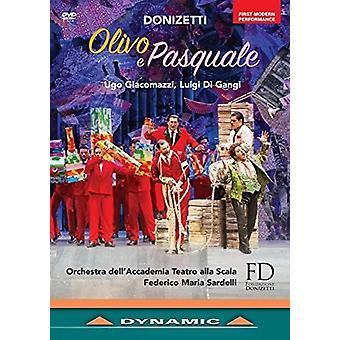 Donizetti: Olivo E Pasquale [DVD] USA importerer
