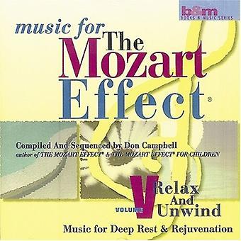 Don Campbell - slappe af og slappe af: musik til dyb hvile og foryngelse [CD] USA import