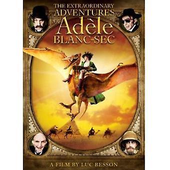 Extraordinära äventyr av Adele Blanc-Sec [DVD] USA import