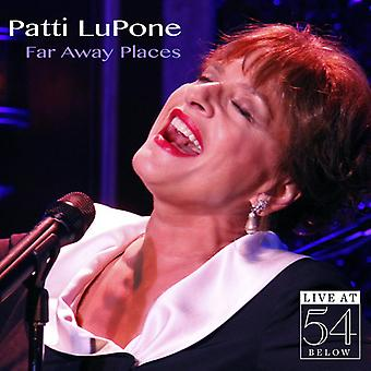 Patti Lupone - Far Away steder: Live på 54 nedenfor [CD] USA import