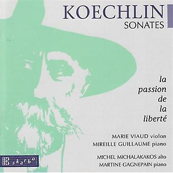 Charles Koechlin - Koechlin: Sonates - La Passion De La Libertà [CD] USA importerer