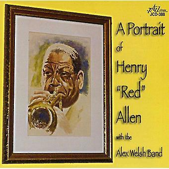 Henry rød Allen - med Alex Walisisk Band [CD] USA importen