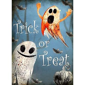 Trick or Treat Ghosts Poster Print by Kimberly Allen