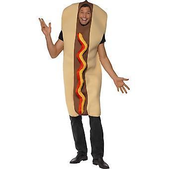 Hot dog costume salsiccia Hot Dog spuntino costume enorme