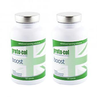 proto-col Boost - Tanning Supplement - 2 Pack