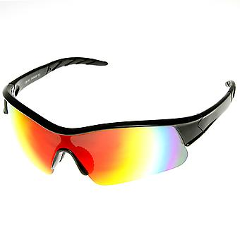 X Hunter merk Semi montuurloze Flash Mirror Lens sport zonnebrillen