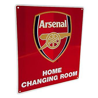 Arsenal Home Changing Room Sign