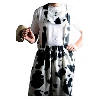 Men costumes Men Bavarian with cow-print