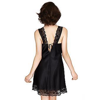 Mio Lounge Venice Black Nightdress 131516B