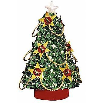 Pinflair Sequin &  Pin Christmas Tree - Makes 2 | Adults Christmas Craft Kits