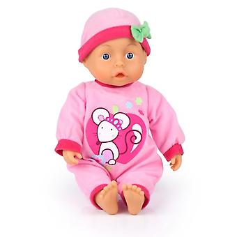 First Words Baby Bayer: 28 Cm Roze