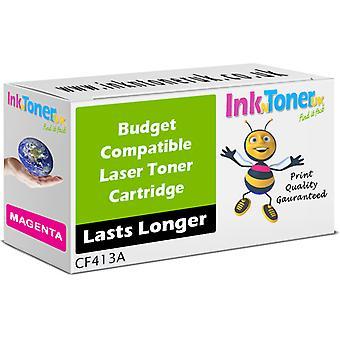 Compatible - Hp 410a Magenta Toner Cartridge (cf413a)