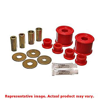 Energy Suspension Control Arm Bushing Set 5.3136R Red Front Fits:MITSUBISHI 200