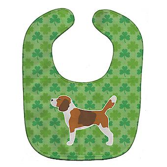 Carolines Treasures  BB6415BIB Beagle Shamrocks  Baby Bib