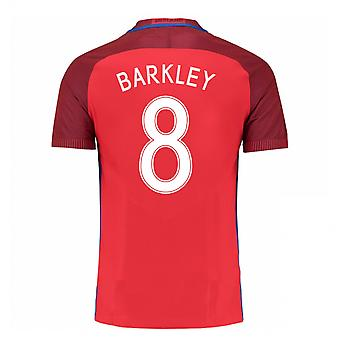 2016-17 England Away Shirt (Barkley 8) - Kids