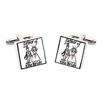 Sonia Spencer Brother of the Groom Wedding Cufflinks, Wedding Party Cufflinks