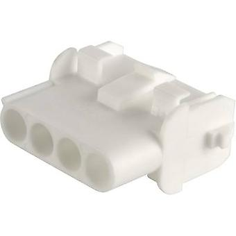 Socket enclosure - cable Universal-MATE-N-LOK Total number of pins 2 TE Connectivity 350778-1 Contact spacing: 6.35 mm 1