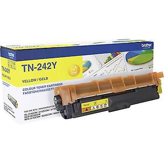 Toner cartridge Original Brother TN-242Y Yellow Page yield 1400 pages