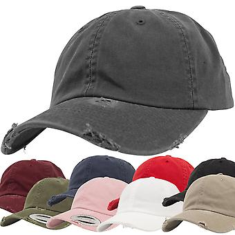 Flexfit low profile destroyed used Strapback dad Cap