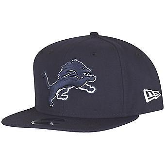 Ny æra opprinnelige-fit Snapback Cap - navy Detroit Lions